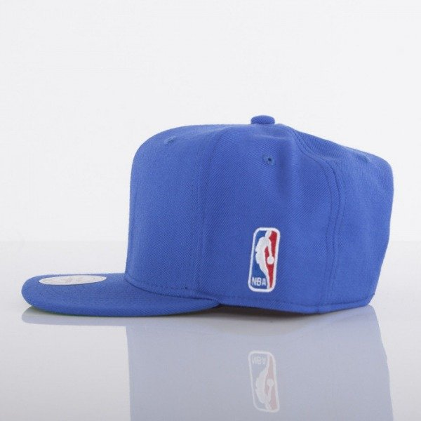 Mitchell & Ness czapka NBA Logo royal Logoman EU412