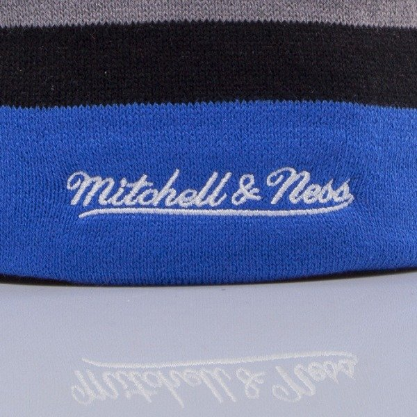 Mitchell & Ness czapka New York Knicks blue Boost Team Color Long KL81Z