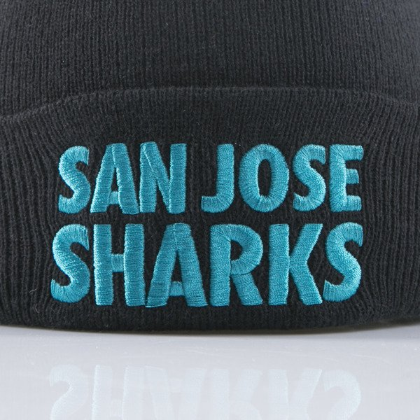 Mitchell & Ness czapka San Jose Sharks black Headline EU253