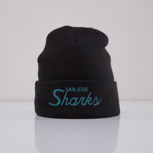 Mitchell & Ness czapka San Jose Sharks black Team Talk EU175