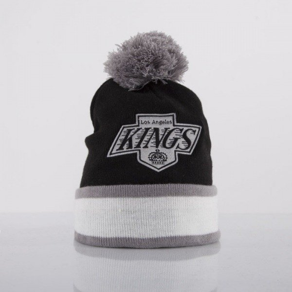 Mitchell & Ness czapka los Angeles Kings black Jersey Stripe KC84Z