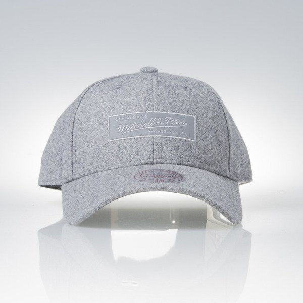 Mitchell & Ness czapka snapback 6panel M&N Own Brand grey heather Eclipse EU823