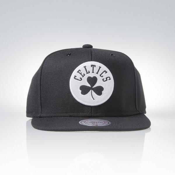 Mitchell & Ness czapka snapback Boston Celtics black Black White EU901