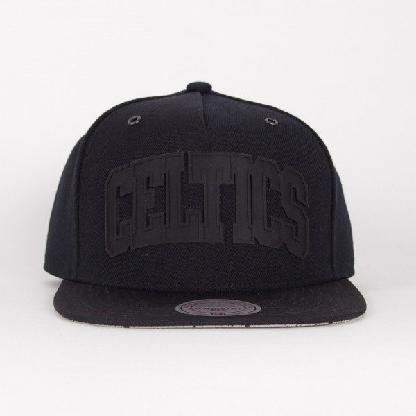 Mitchell & Ness czapka snapback Boston Celtics black Cement