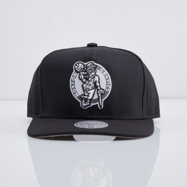 Mitchell & Ness czapka snapback Boston Celtics black Nutek EU283