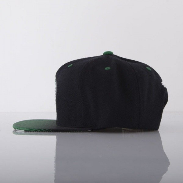 Mitchell & Ness czapka snapback Boston Celtics black Stop On A Dime NZ54Z