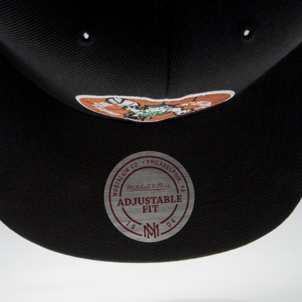 Mitchell & Ness czapka snapback Boston Celtics black Wool Solid / Solid 2 NZ979