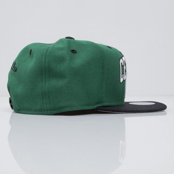 Mitchell & Ness czapka snapback Boston Celtics green Team Arch NA80Z