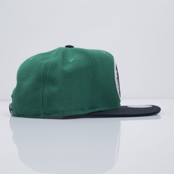 Mitchell & Ness czapka snapback Boston Celtics green XL Logo 2Tone NJ16Z