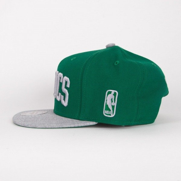 Mitchell & Ness czapka snapback Boston Celtics green / grey Tctop