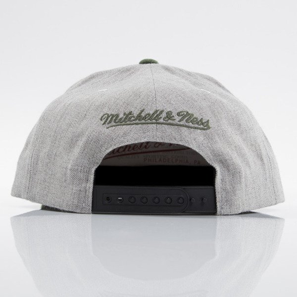 Mitchell & Ness czapka snapback Boston Celtics heather grey EU494 JOLT