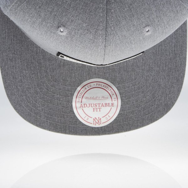 Mitchell & Ness czapka snapback Brand grey heather Milo EU829