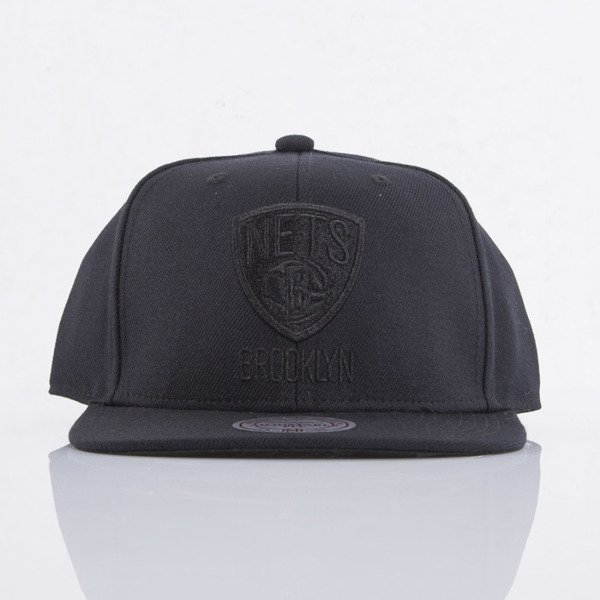 Mitchell & Ness czapka snapback Brooklyn Nets black All Black EU788