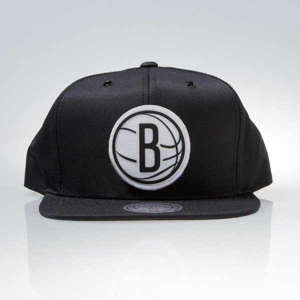 Mitchell & Ness czapka snapback Brooklyn Nets black BOARD EU830