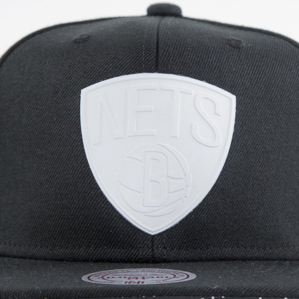 Mitchell & Ness czapka snapback Brooklyn Nets black Drill EU557