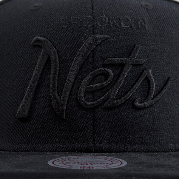 Mitchell & Ness czapka snapback Brooklyn Nets black EU397 TWIST