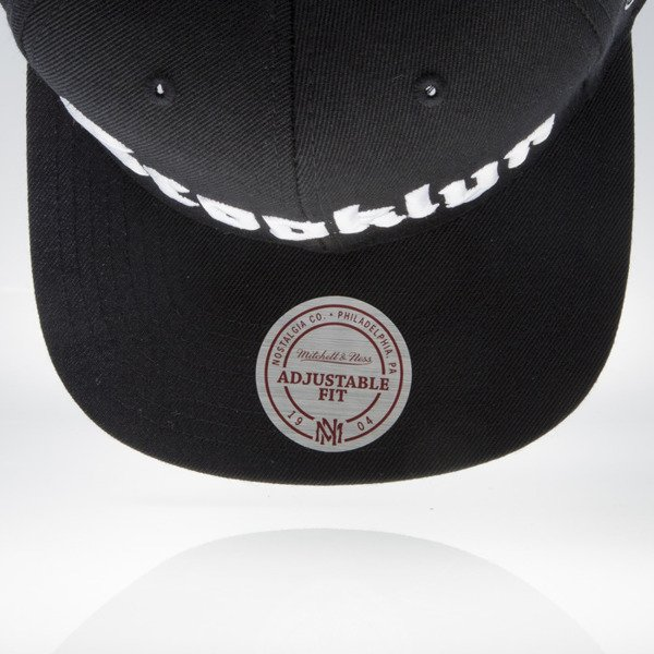 Mitchell & Ness czapka snapback Brooklyn Nets black GOTHAM CITY VW49Z