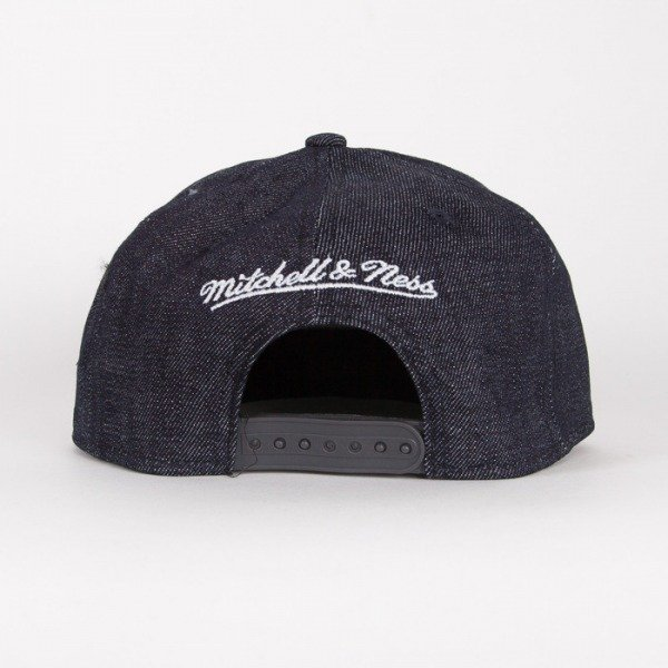 Mitchell & Ness czapka snapback Brooklyn Nets navy Team UP