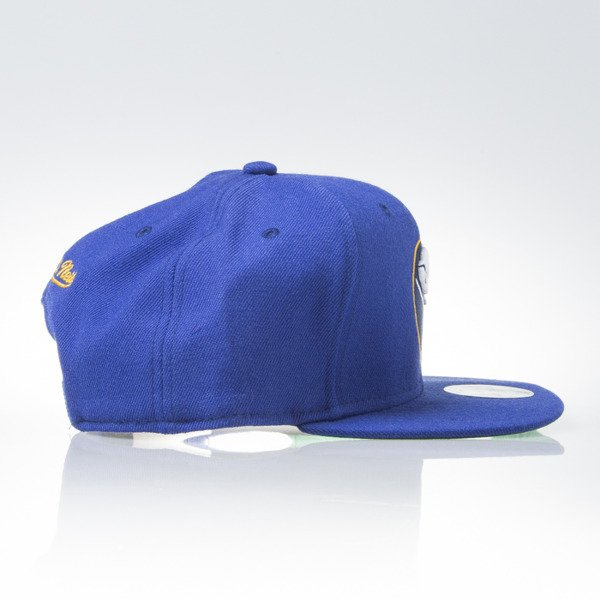 Mitchell & Ness czapka snapback Buffalo Sabres blue WOOL SOLID NZ980