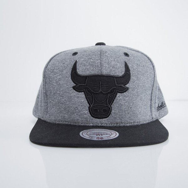 Mitchell & Ness czapka snapback Chicago Bulls dark heather grey Sidewalk EU499