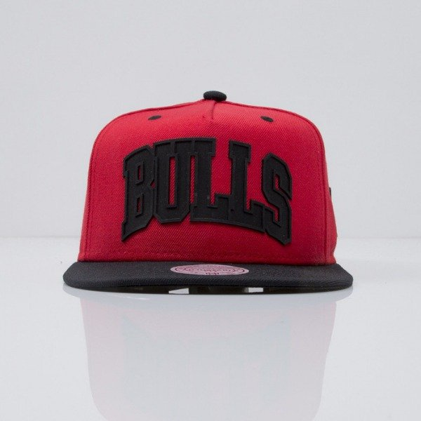 Mitchell & Ness czapka snapback Chicago Bulls red ALLEY OOP EU439