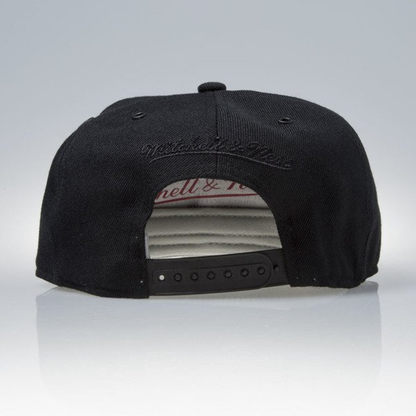 Mitchell & Ness czapka snapback Detroit Red Wings black FILTER EU837