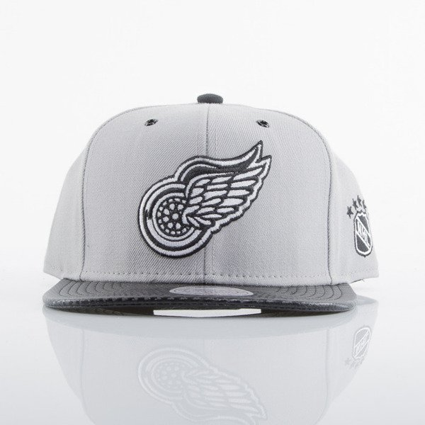 Mitchell & Ness czapka snapback Detroit Red Wings grey EU501 SPEEDWAY