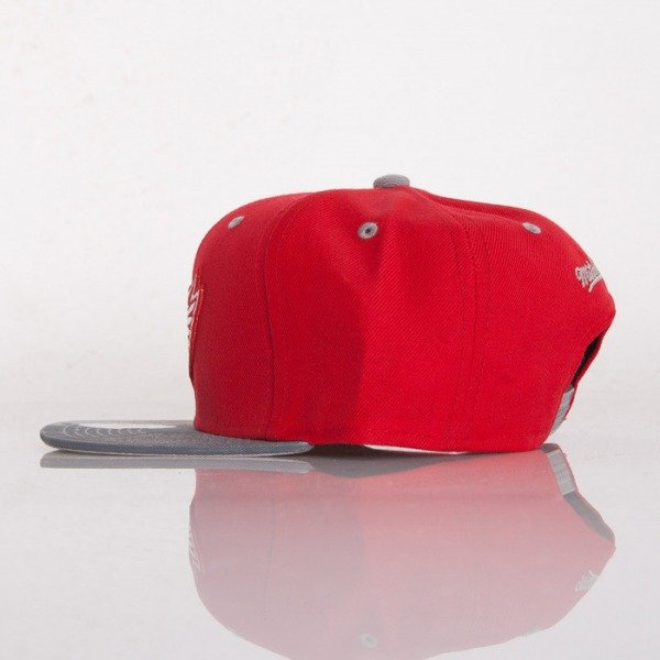 Mitchell & Ness czapka snapback Detroit Red Wings red Paint Brush EU149