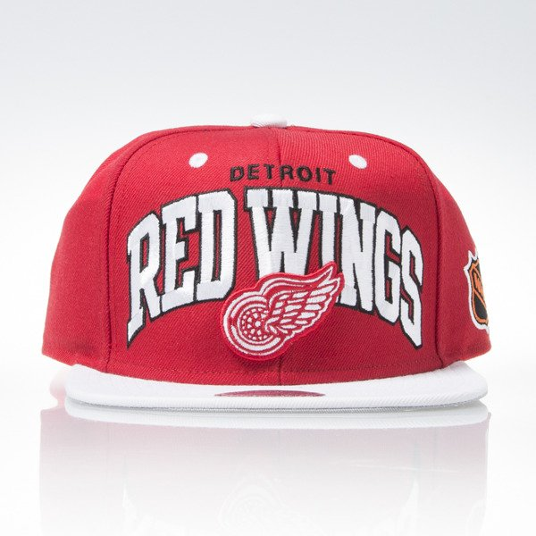 Mitchell & Ness czapka snapback Detroit Red Wings red TEAM ARCH ND12Z