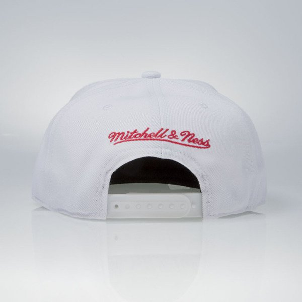 Mitchell & Ness czapka snapback Detroit Red Wings white  WOOL SOLID NZ980