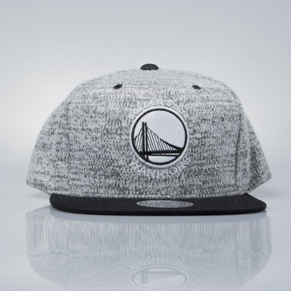 Mitchell & Ness czapka snapback Golden State Warriors grey heather / black EU957 GREY DUSTER