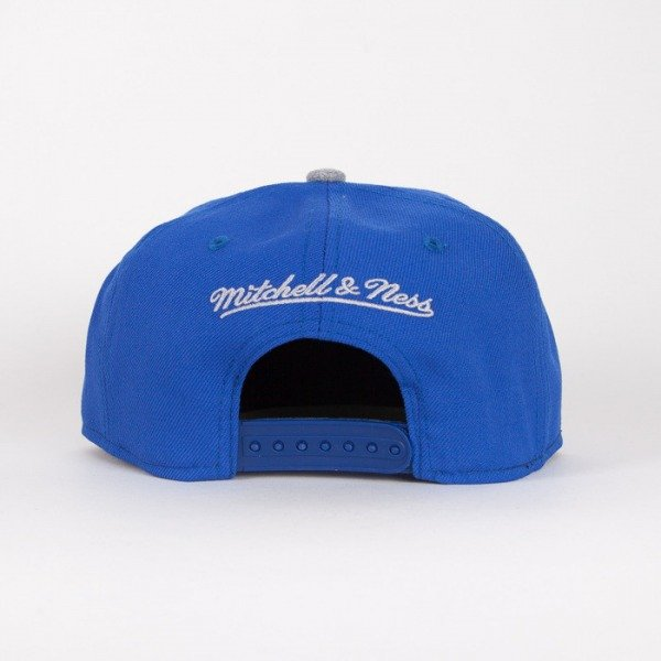 Mitchell & Ness czapka snapback Golden State Warriors royal / grey Tctop