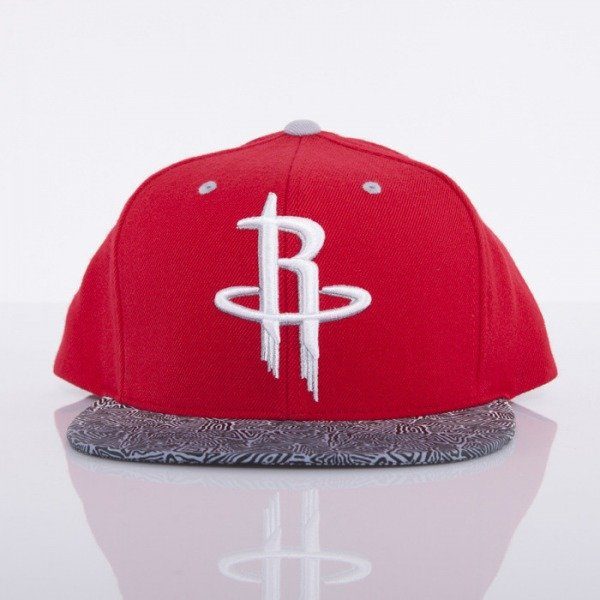 Mitchell & Ness czapka snapback Houston Rockets red Court Vision