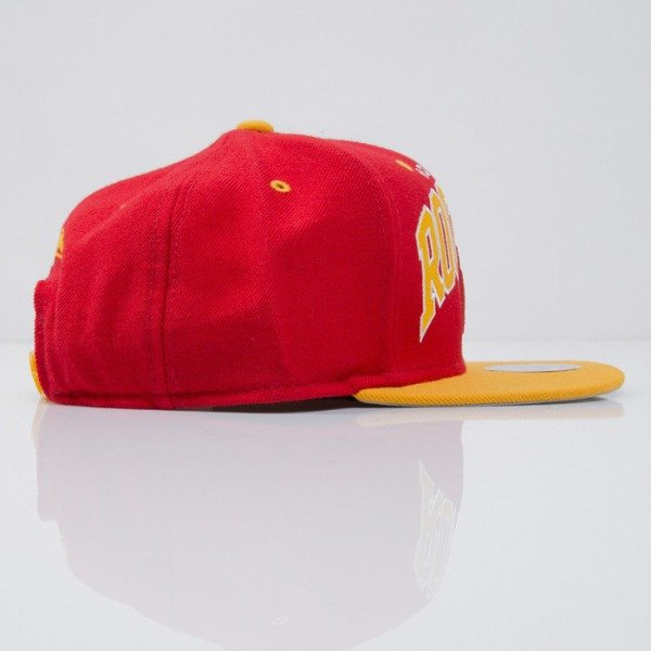 Mitchell & Ness czapka snapback Houston Rockets red Team Arch NA80Z