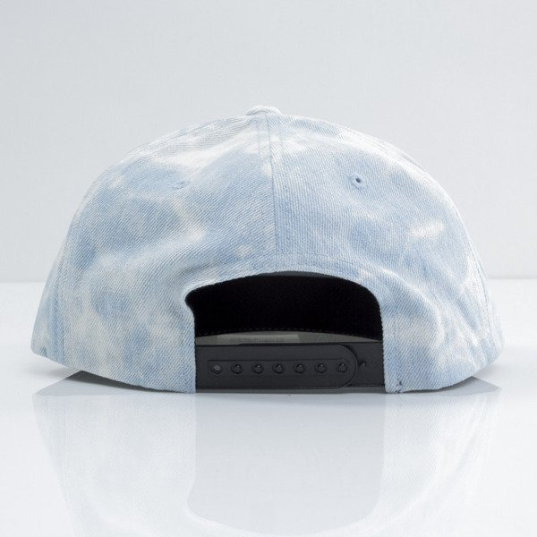 Mitchell & Ness czapka snapback Logo M&N blue Light Acid Washed VE96Z