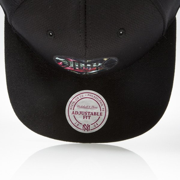 Mitchell & Ness czapka snapback Los Angeles Clippers black FLORAL INFILL EU884
