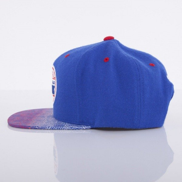 Mitchell & Ness czapka snapback Los Angeles Clippers blue Court Vision