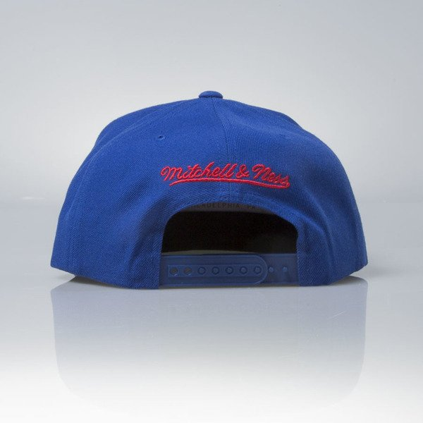 Mitchell & Ness czapka snapback Los Angeles Clippers blue Wool Solid / Solid 2 NT78Z