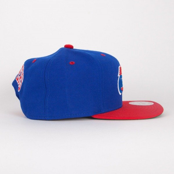 Mitchell & Ness czapka  snapback Los Angeles Clippers blue / red  Flipside