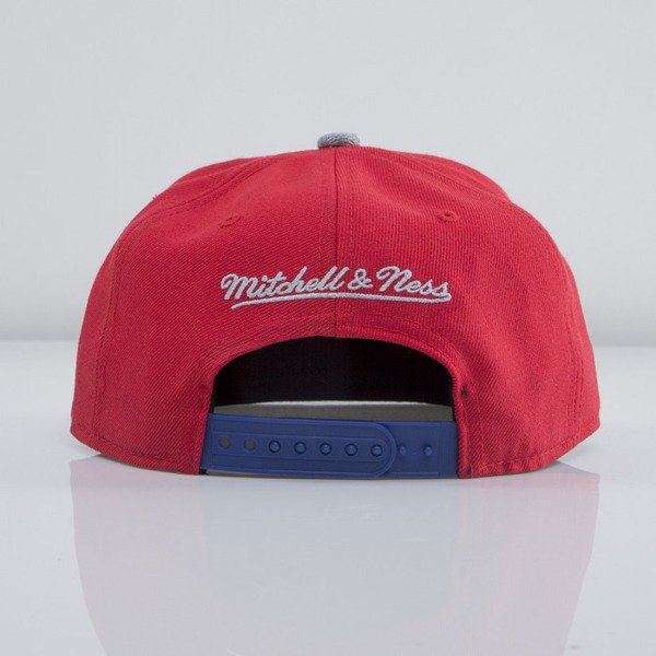 Mitchell & Ness czapka snapback Los Angeles Clippers red Forward Line EU435