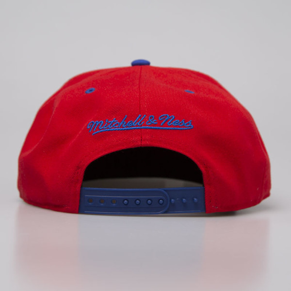 Mitchell & Ness czapka snapback Los Angeles Clippers red Team Arch NA80Z