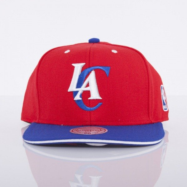 Mitchell & Ness czapka snapback Los Angeles Clippers red Tip Off