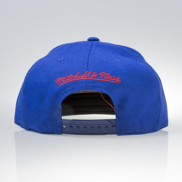 Mitchell & Ness czapka snapback Los Angeles Clippers royal WOOL SOLID NL99Z