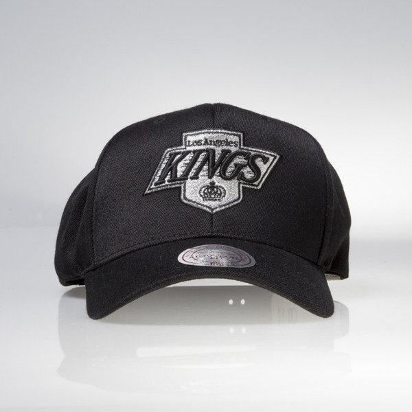 Mitchell & Ness czapka snapback Los Angeles Kings black Black W / Team Logo EU1043