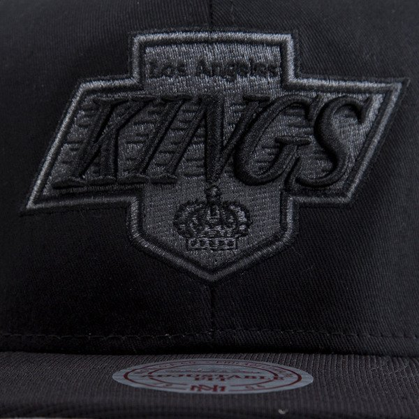 Mitchell & Ness czapka snapback Los Angeles Kings black EU283 NUTEK