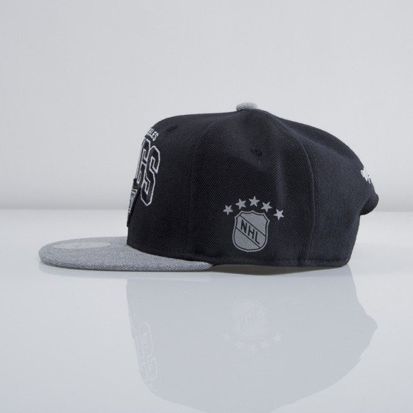 Mitchell & Ness czapka snapback Los Angeles Kings black Forward Line EU435