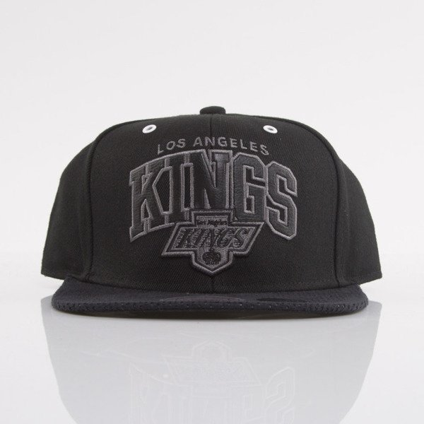 Mitchell & Ness czapka snapback Los Angeles Kings black Marked EU693