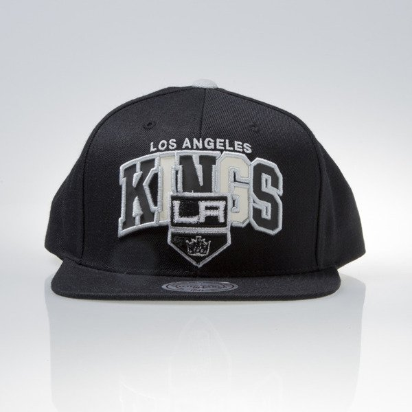 Mitchell & Ness czapka snapback Los Angeles Kings black REFLECTIVE TRI POP ARCH VQ86Z