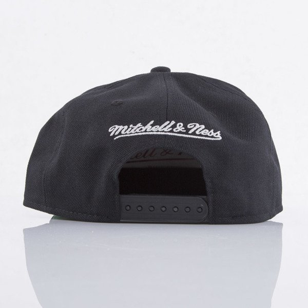 Mitchell & Ness czapka snapback Los Angeles Kings black WOOL SOLID NL17Z