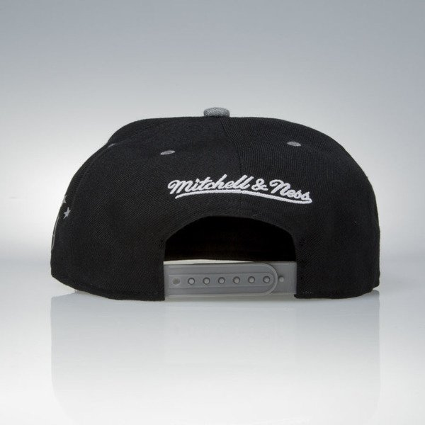 Mitchell & Ness czapka snapback Los Angeles Kings black / grey Greytist EU938